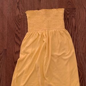 Like NEW Lilly Pulitzer Yellow Terrycloth Coverup
